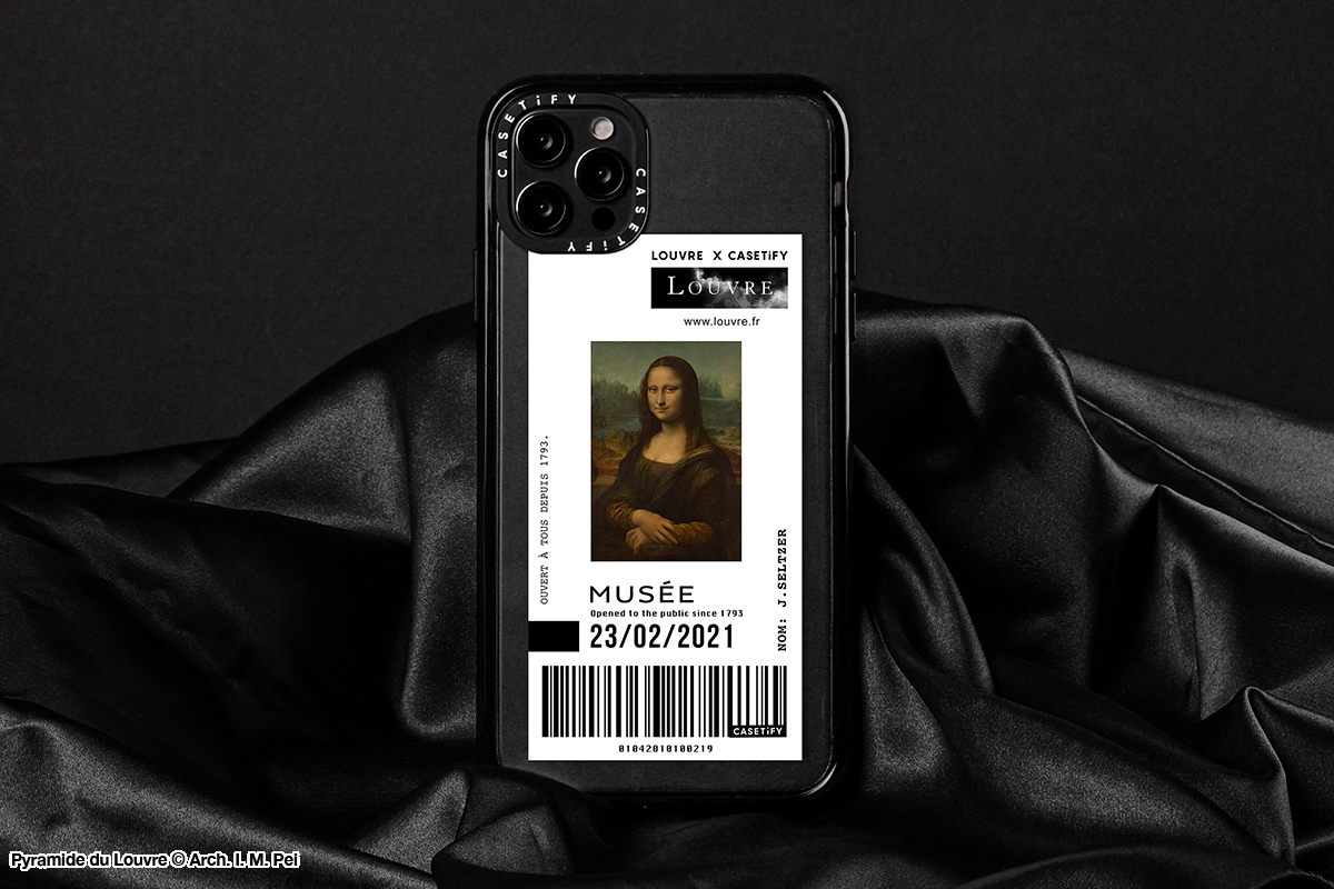 CASETiFY X Musée du Louvre
