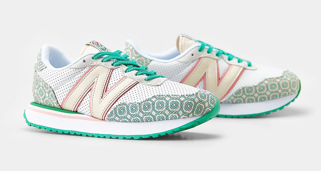 Casablanca x New Balance 237 Holly Green