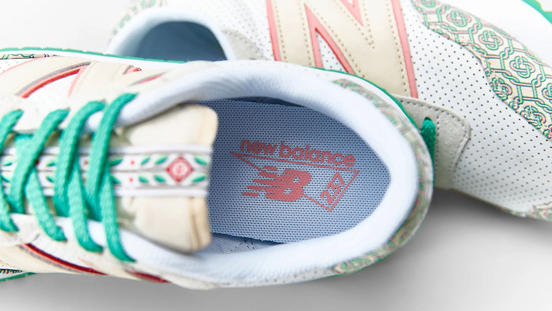 Casablanca x New Balance 237 Holly Green 4