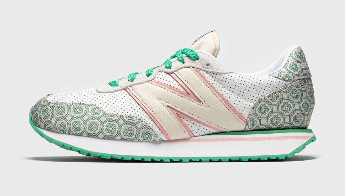 Casablanca x New Balance 327 Holly Green