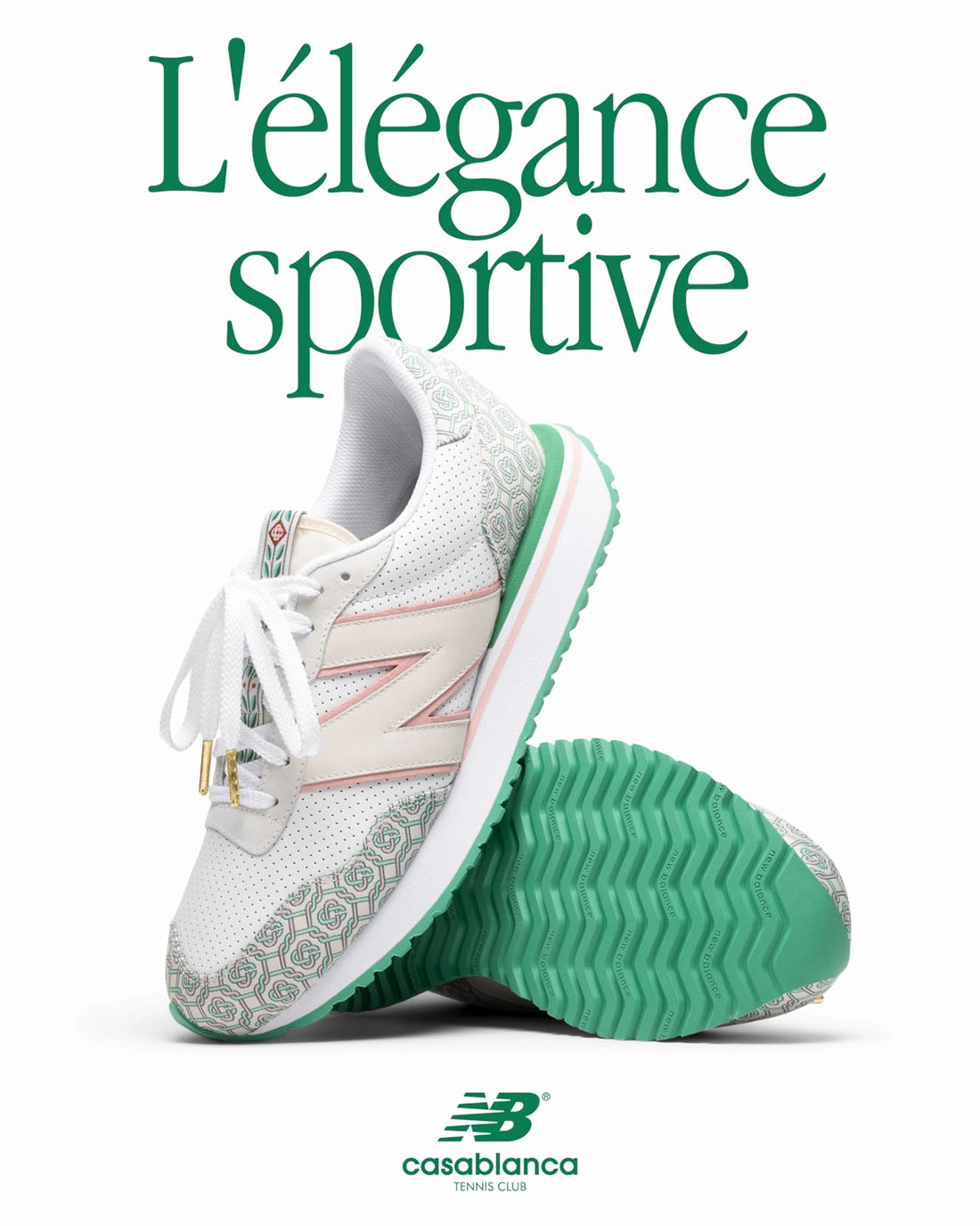 Casablanca x New Balance Holly Green