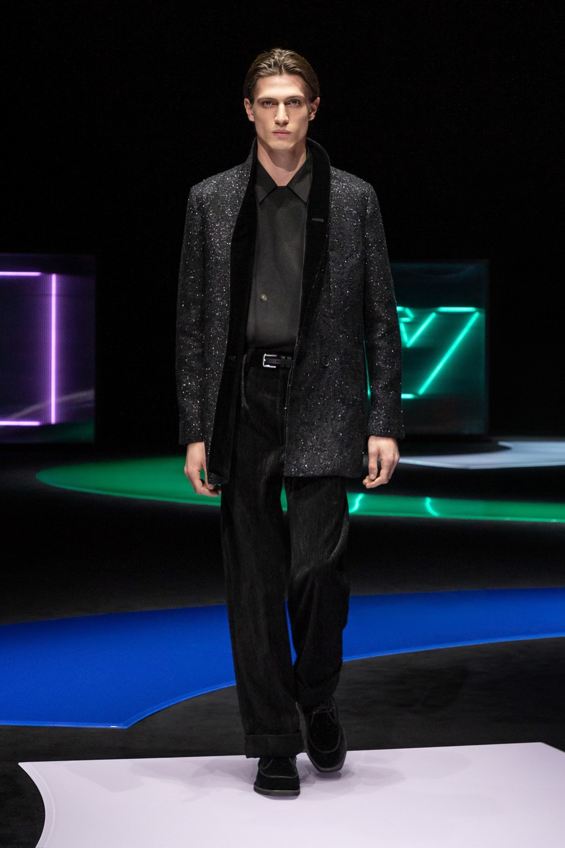 Emporio Armani - Automne-Hiver 2021-2022 - Milan Fashion Week