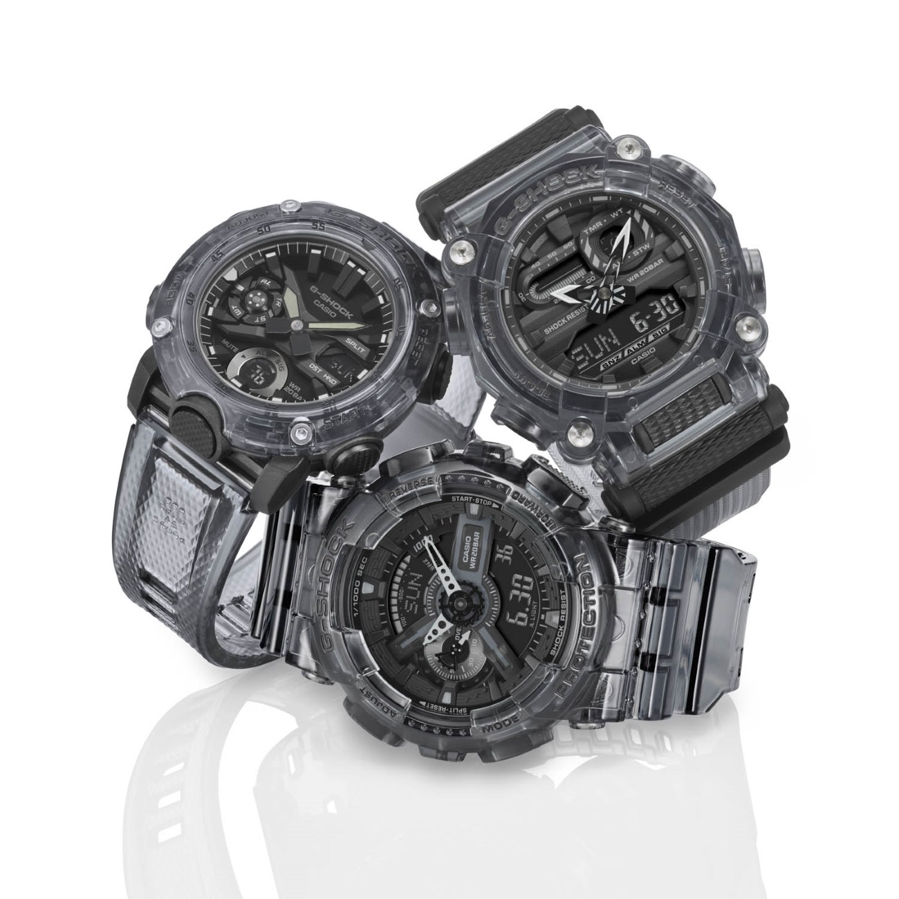 G-SHOCK Skeleton Black & White