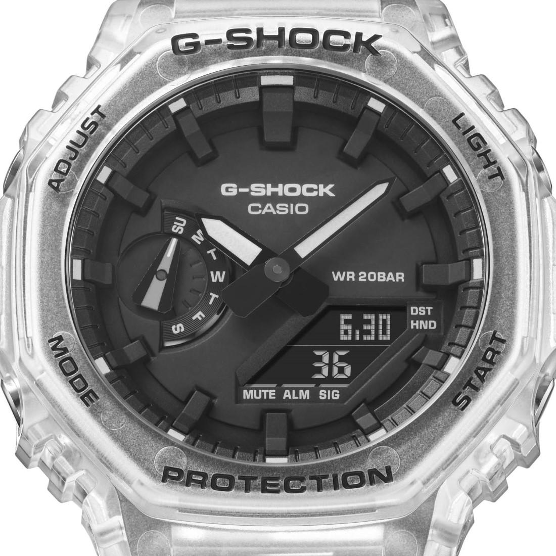 G-SHOCK Skeleton White