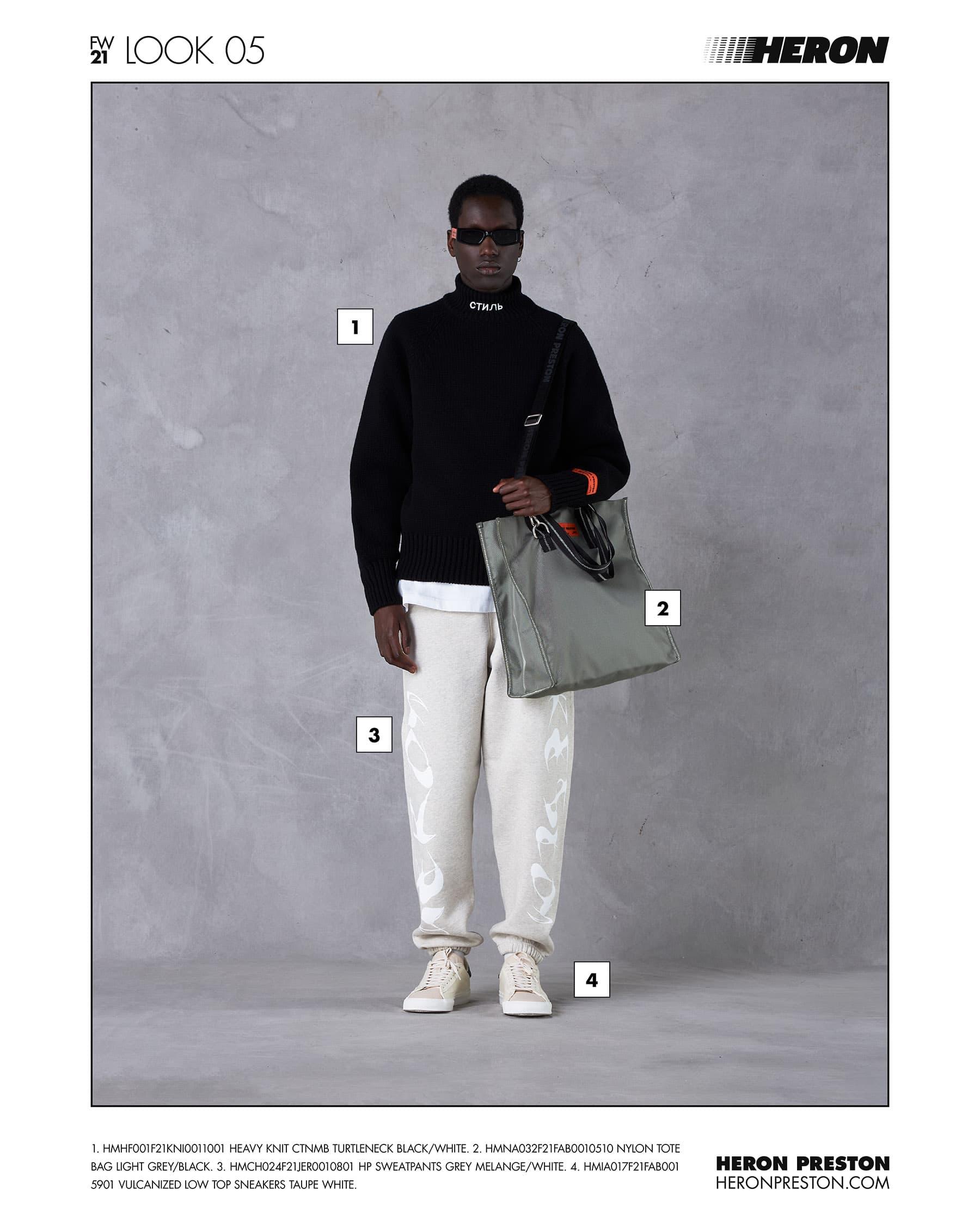 Heron Preston - Automne-Hiver 2021-2022 - New York Fashion Week