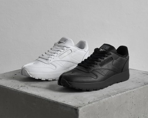 Maison Margiela x Reebok Classic Leather Tabi Black & White