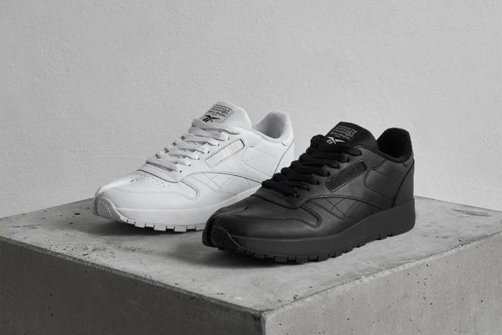 Maison Margiela x Reebok Classic Leather Tabi Black & White