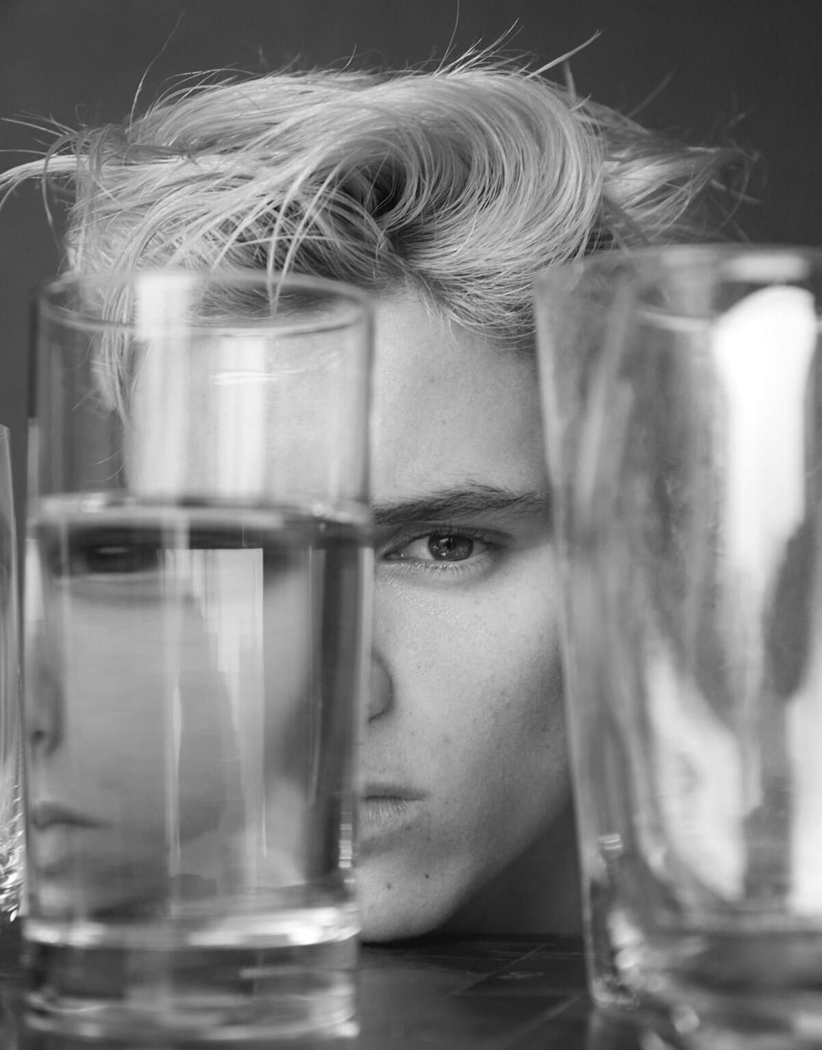 Romeo Beckham - L'Uomo Vogue N°10 par Mert & Marcus