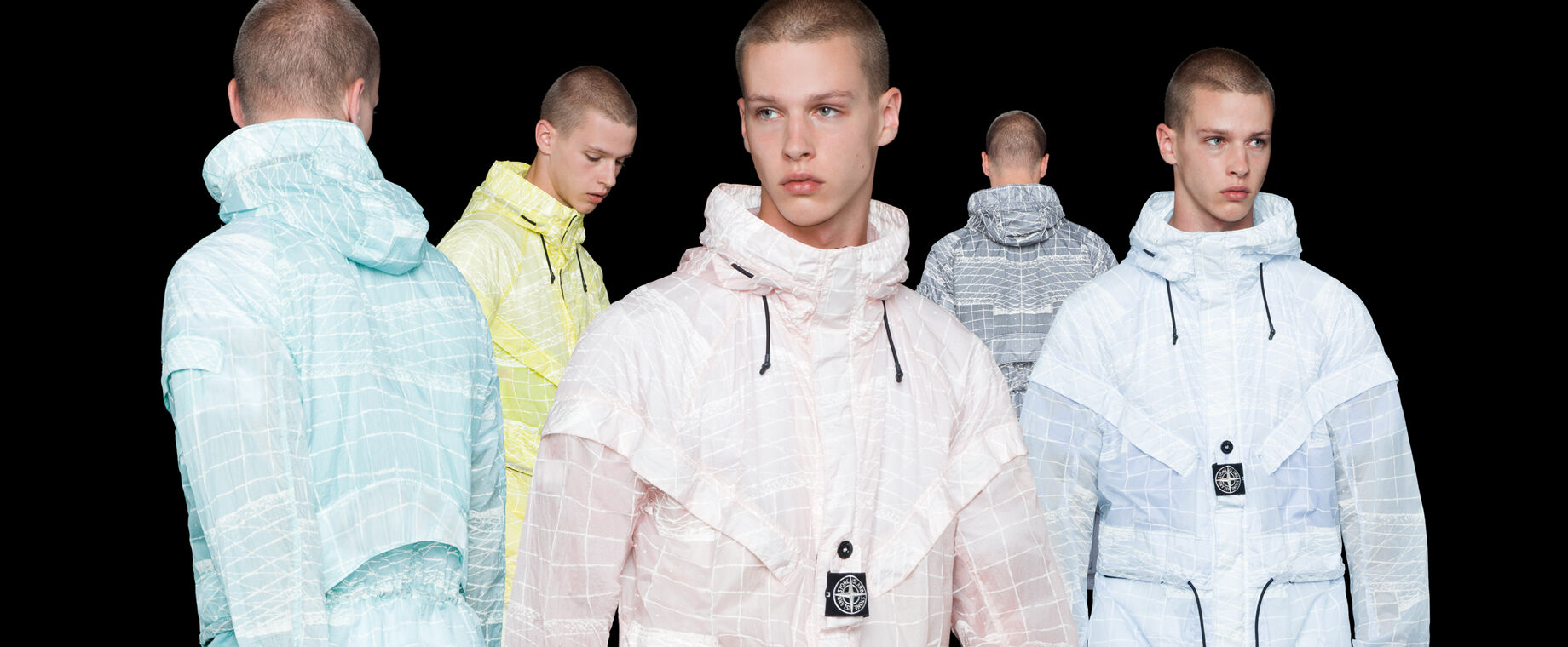 Stone Island - Collection Reflective Grid Printemps-Été 2021