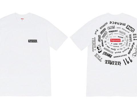 Supreme Printemps-Été 2021 - Collection T-Shirts