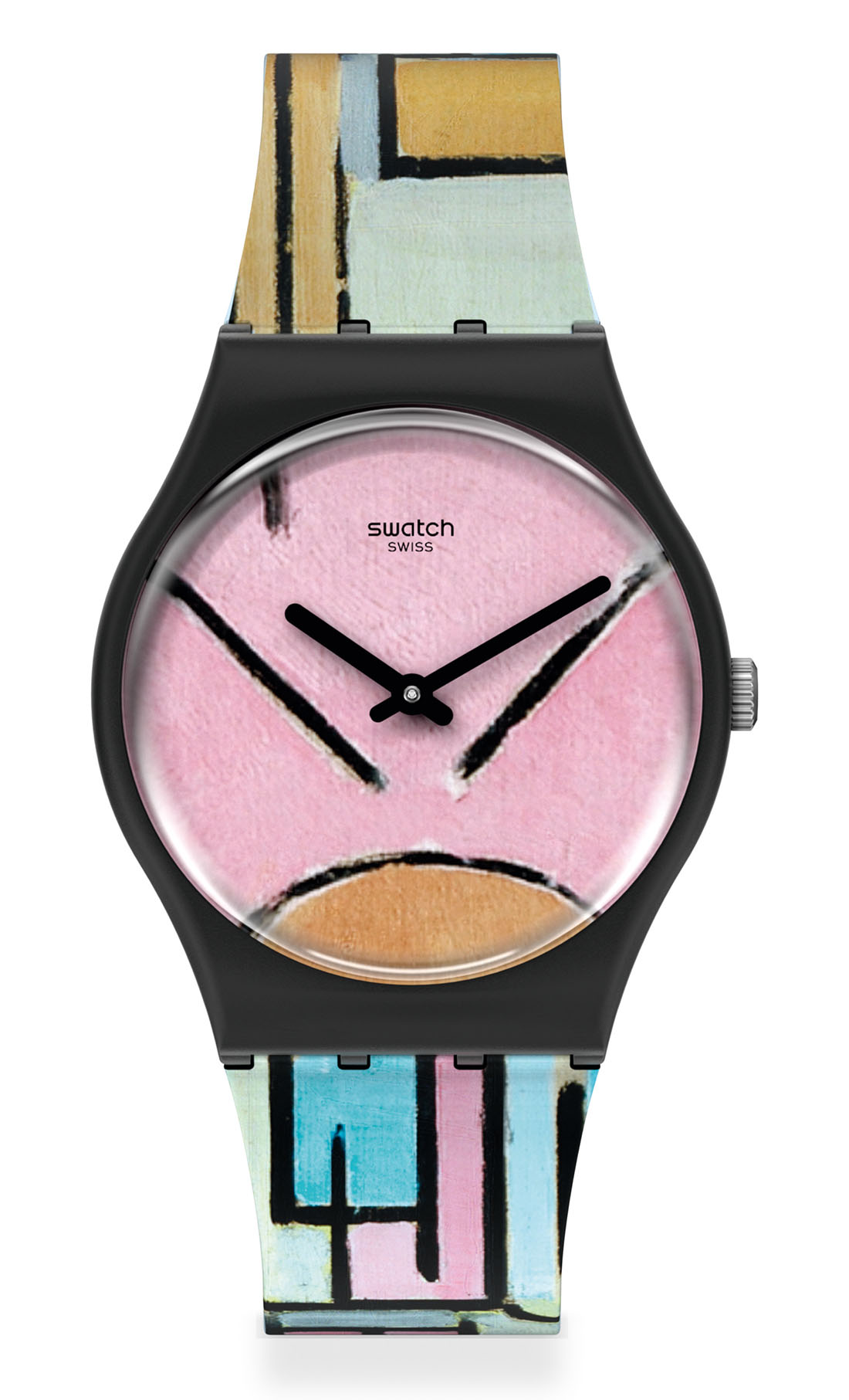 Swatch x MoMA New York - Composition in Oval with Color Planes 1