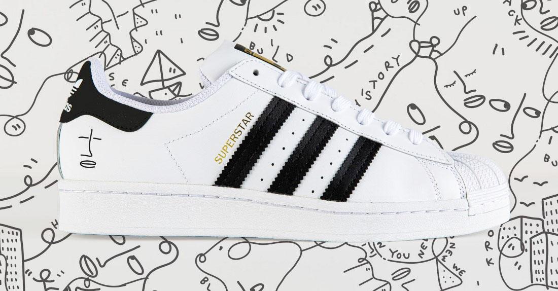 adidas Superstar x Shantell Martin