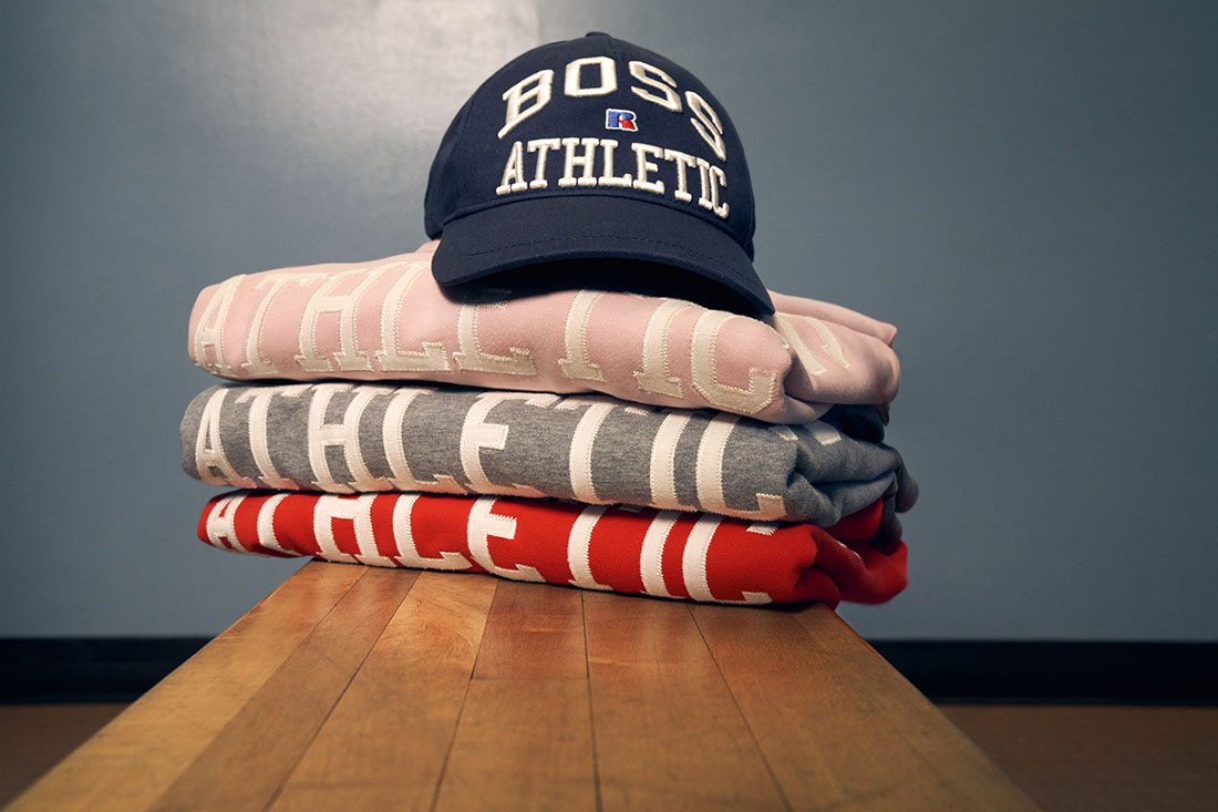 BOSS x Russel Athletic Pre Automne 2021