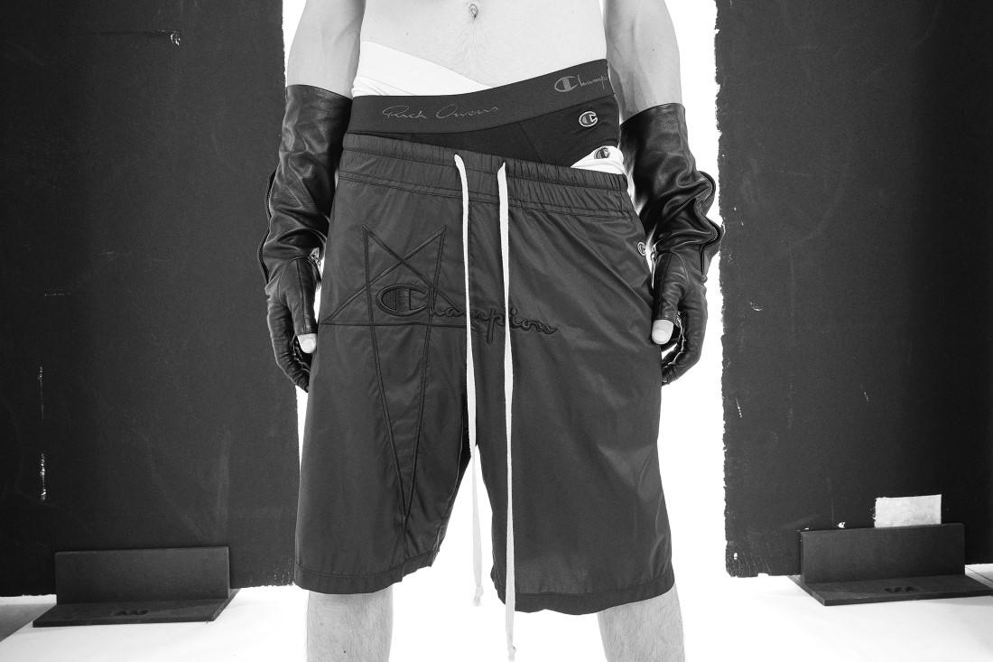 Champion x Rick Owens Printemps-Été 2021