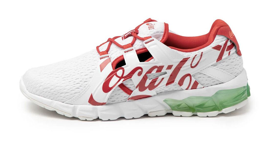 Coca-Cola x ASICS GEL-Quantum 90 White