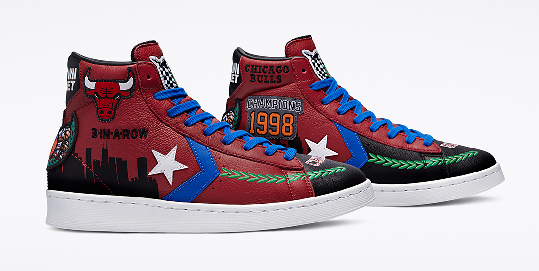 Chinatown Market x Converse Pro Leather x Chicago Bulls