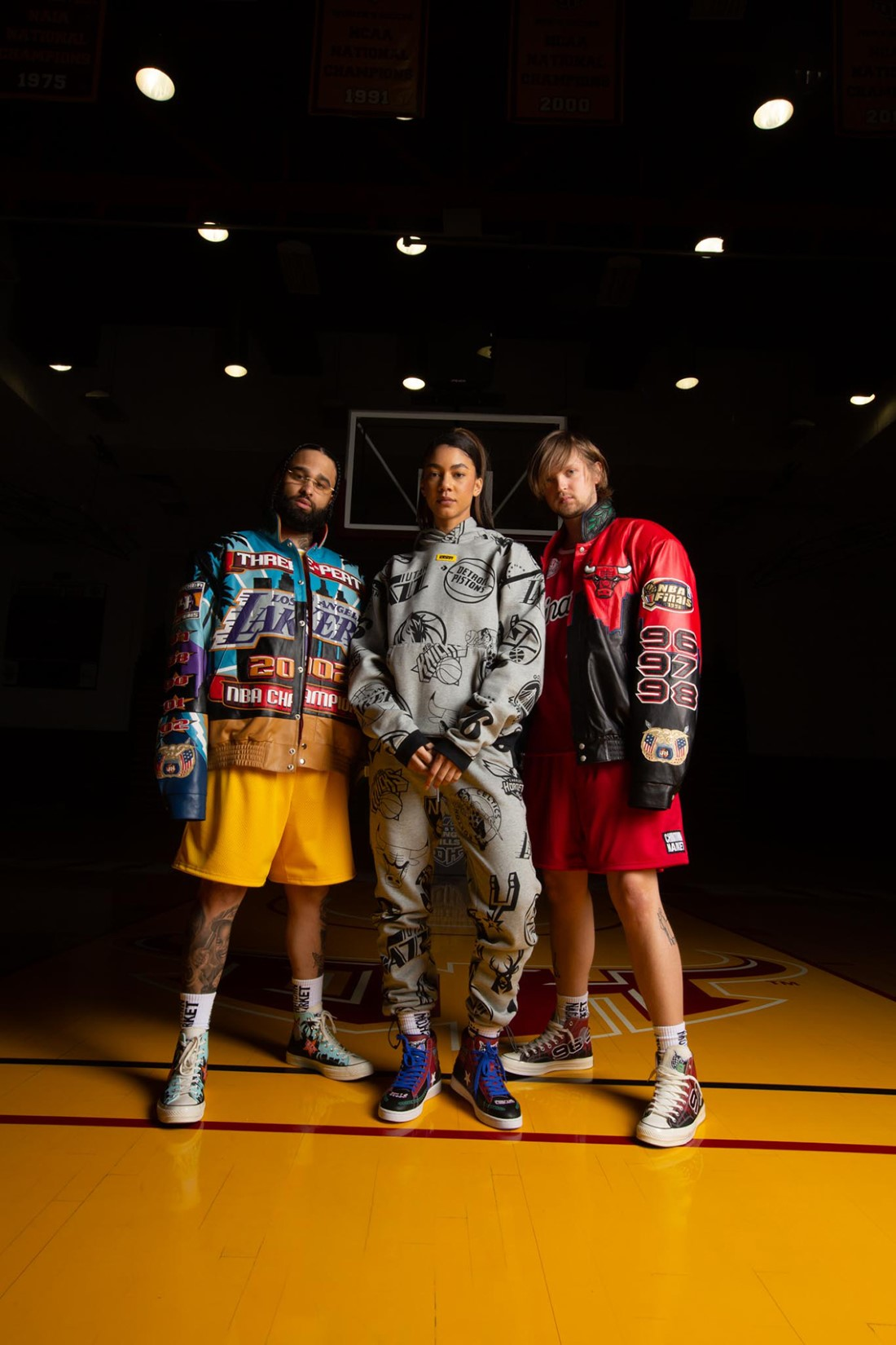 Converse x Chinatown Market x NBA