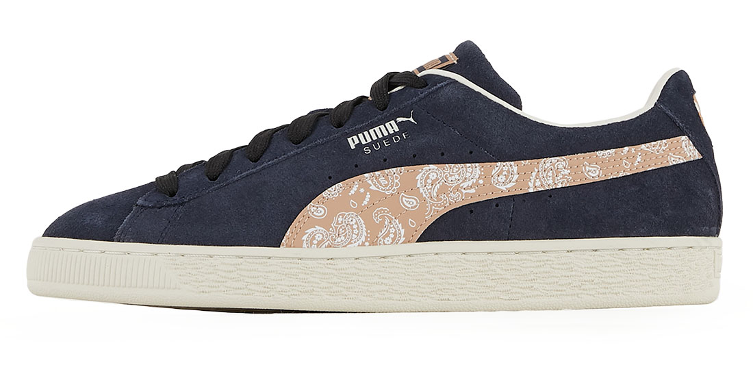 Courir - Collection Capsule Paisley - PUMA Suede Paisley