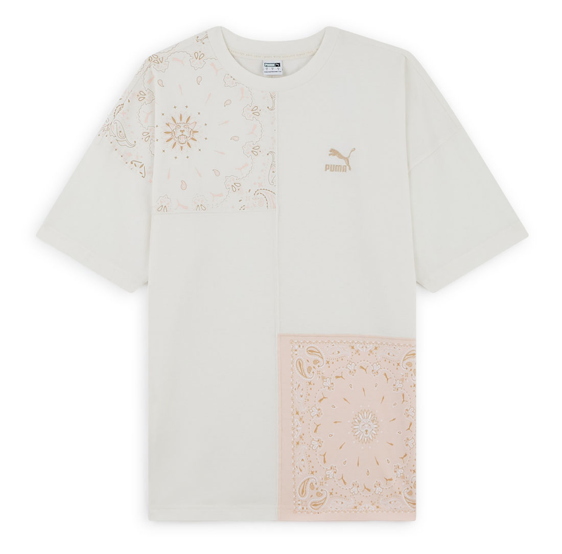 Courir - Collection Capsule Paisley - PUMA T-Shirt Patchwork