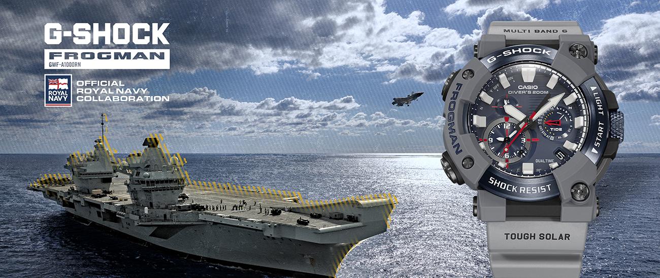 G-SHOCK FROGMAN x Royal Navy