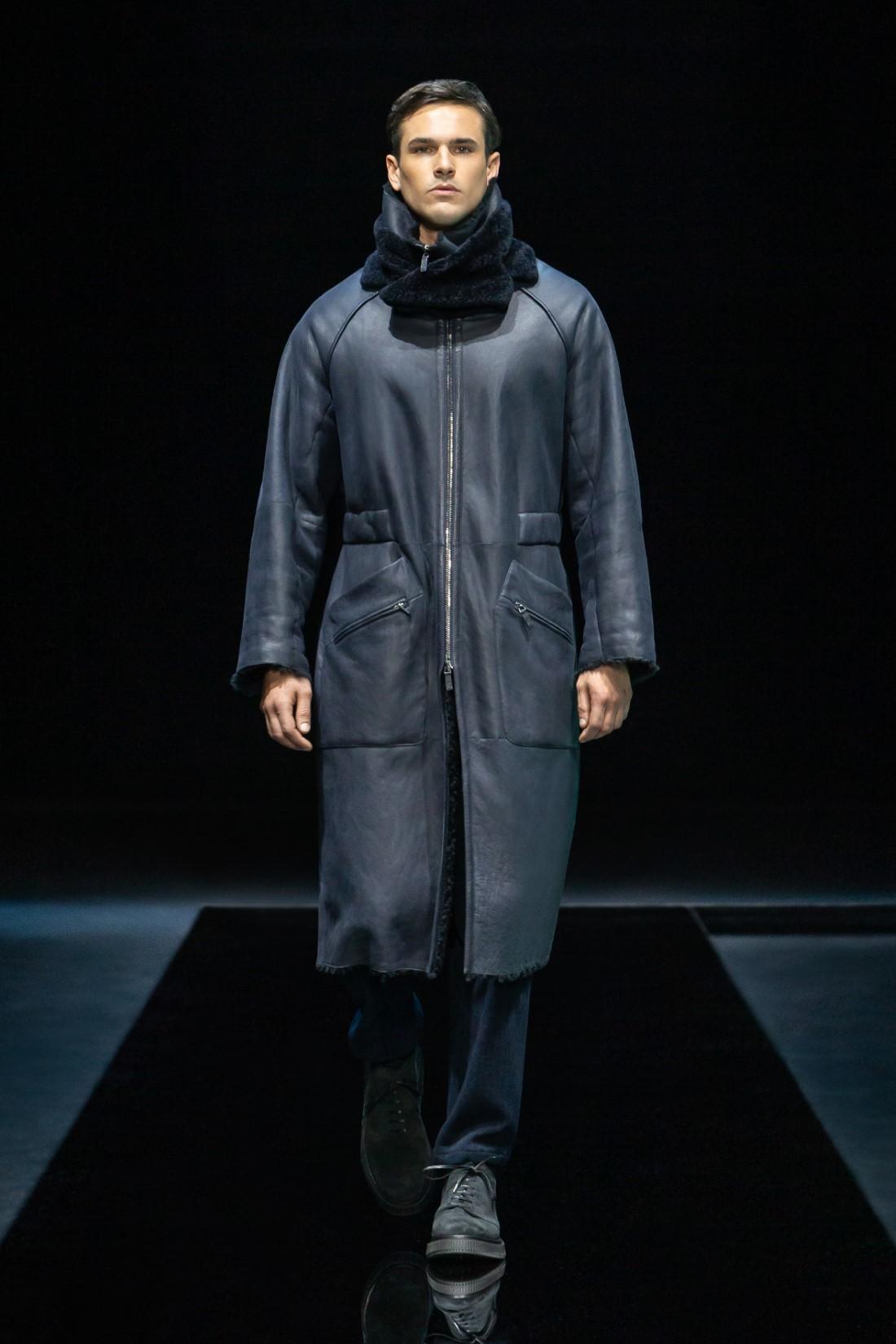 Giorgio Armani - Automne-Hiver 2021-2022 - Milan Fashion Week