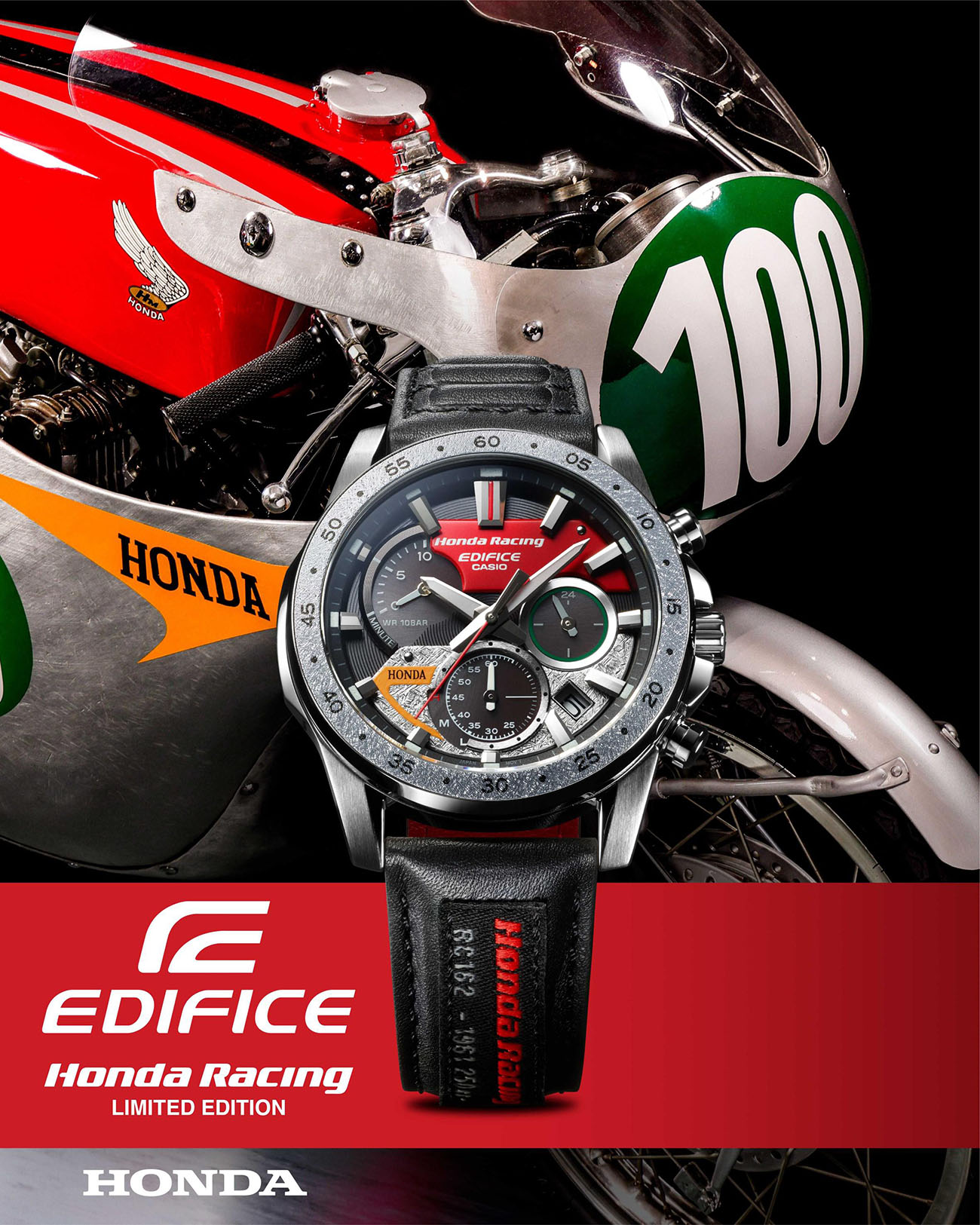 Honda Racing x CASIO EDIFICE EQS-930HR
