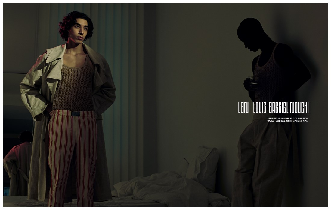 LGN Louis Gabriel Nouchi - Campagne Printemps-Été 2021