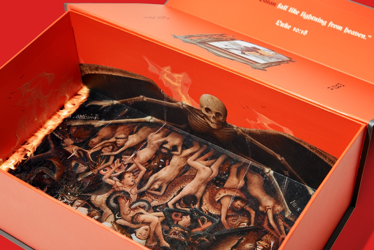 MSCHF x Lil Nas X Air Max 97 Satan Shoes