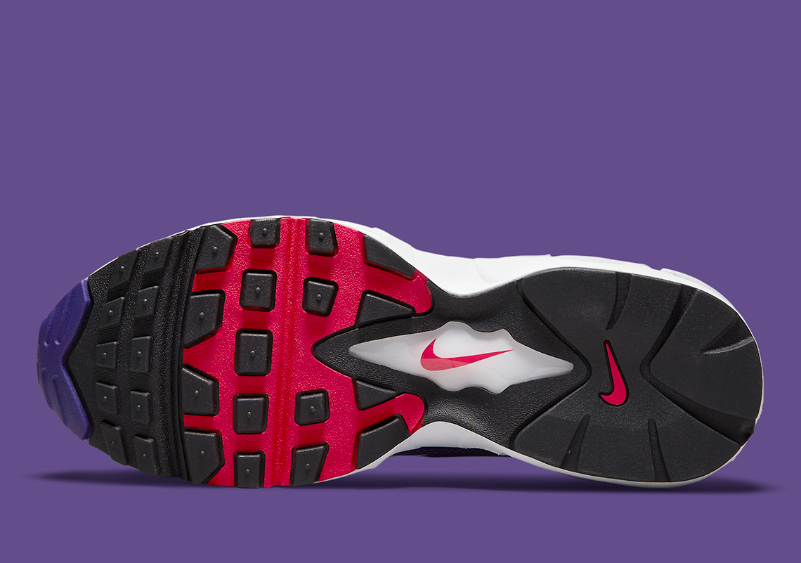 "Nike Air Max 96 II ""Comet Red"""
