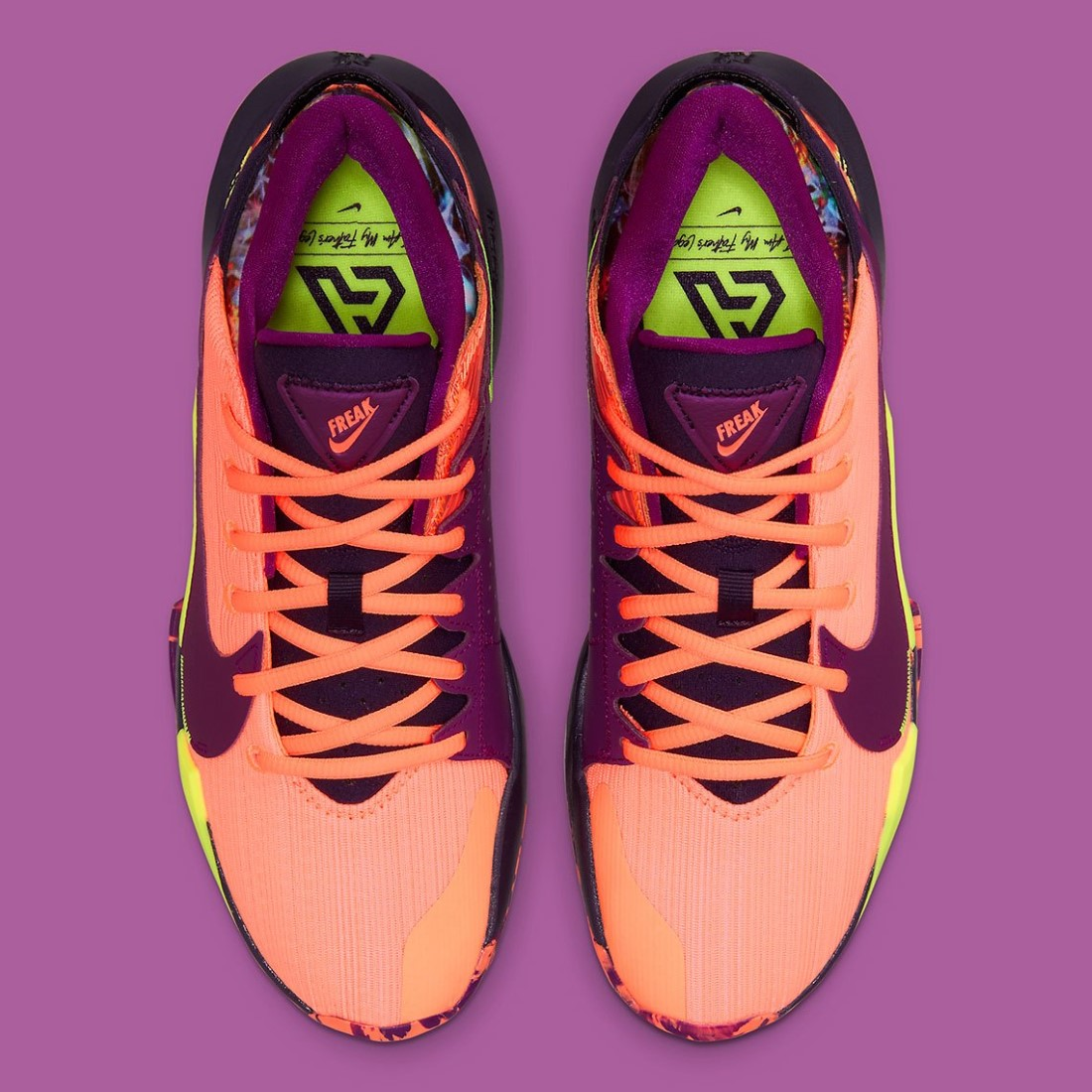 Nike Zoom Freak 2 Bright Mango