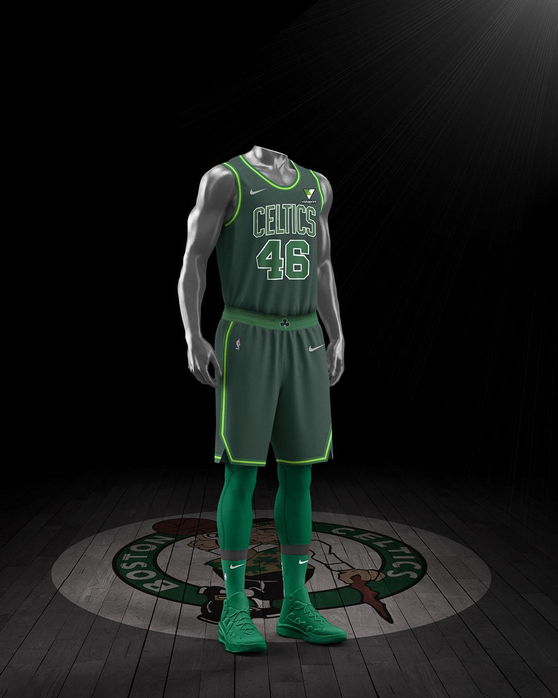 Nike x NBA Earned Edition 2020-21 - Boston Celtics