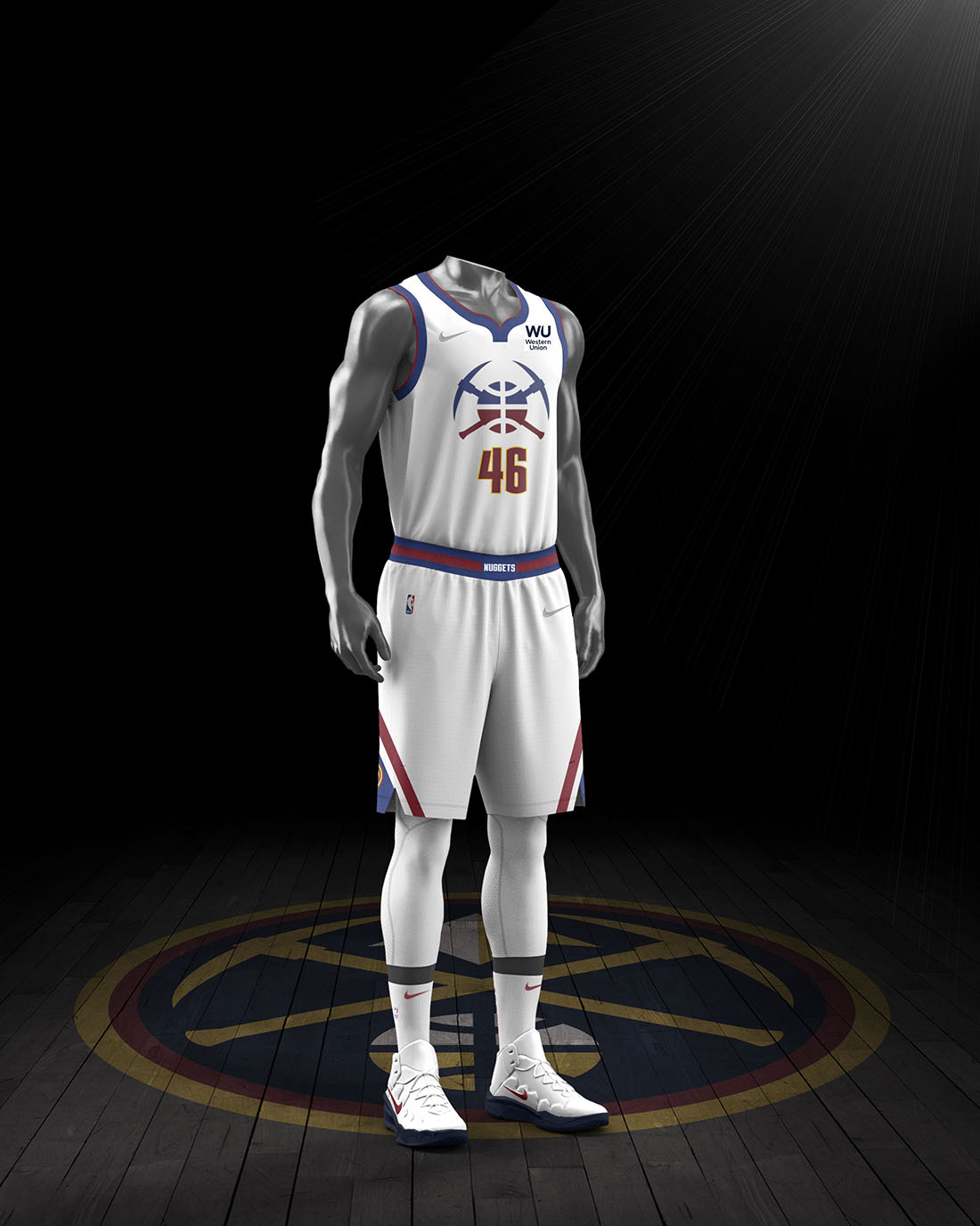 Nike x NBA Earned Edition 2020-21 - Denver Nuggets