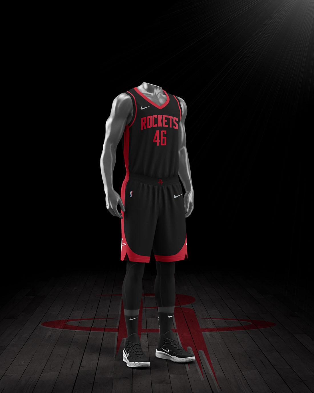 Nike x NBA Earned Edition 2020-21 - Houston Rockets