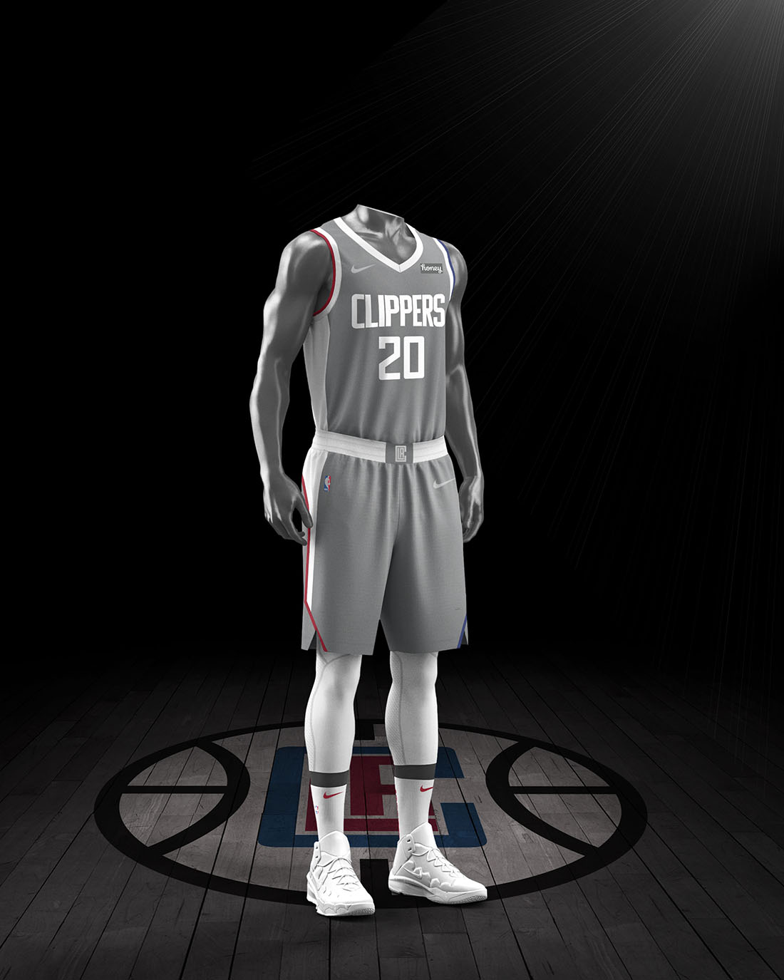 Nike x NBA Earned Edition 2020-21 - Los Angeles Clippers