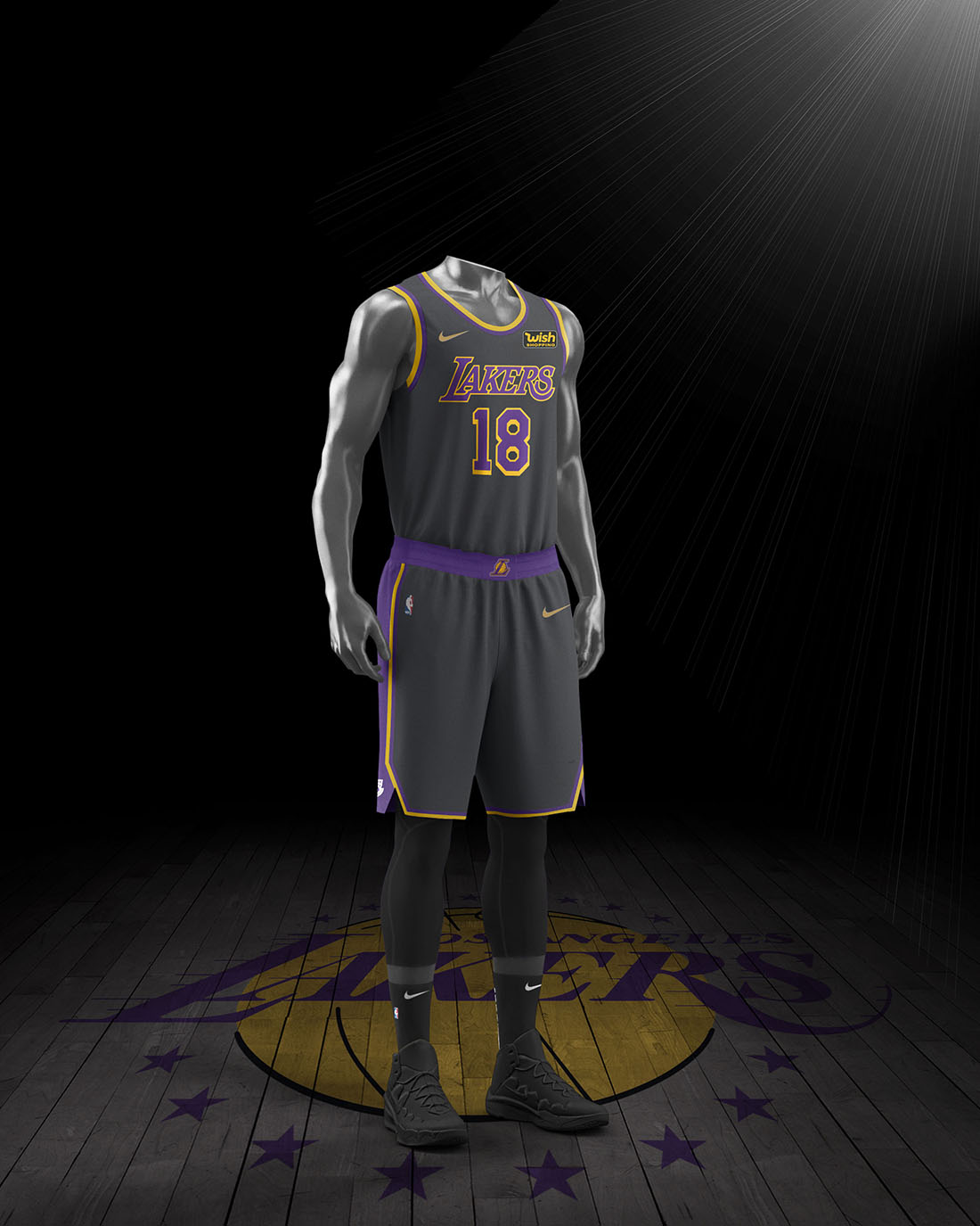 Nike x NBA Earned Edition 2020-21 - Los Angeles Lakers