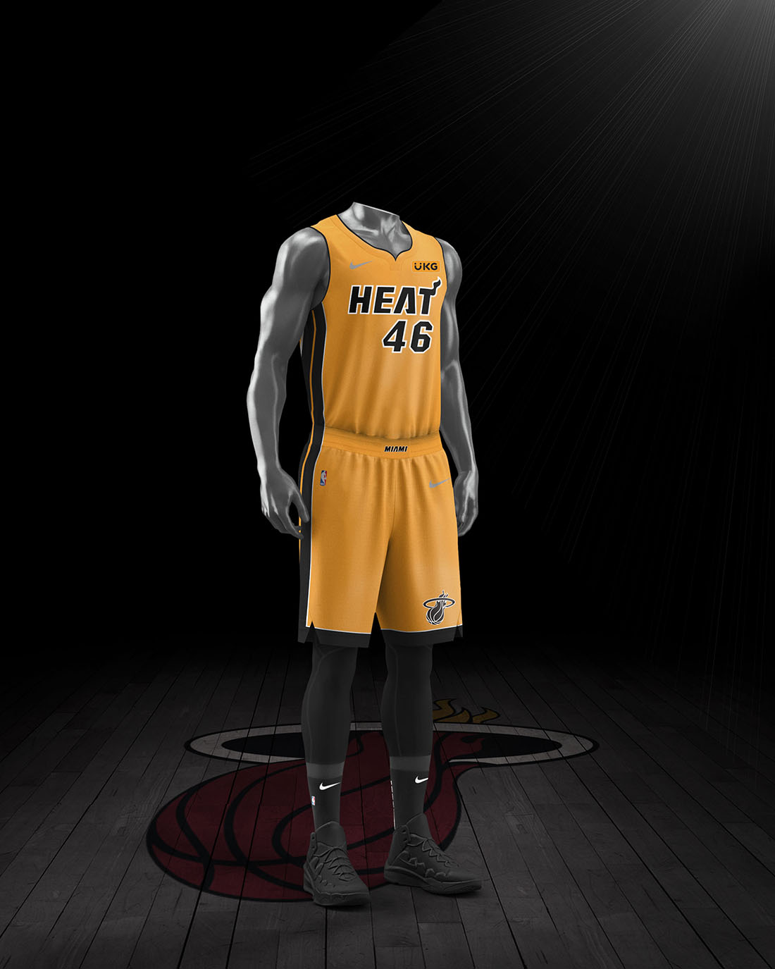 Nike x NBA Earned Edition 2020-21 - Miami Heat