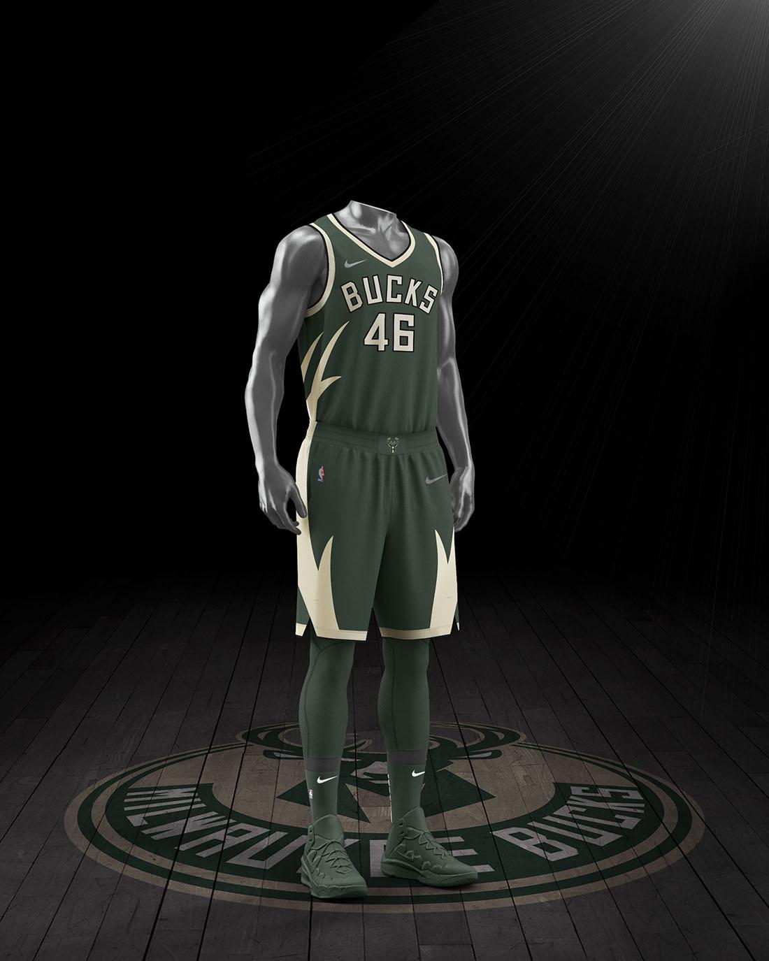 Nike x NBA Earned Edition 2020-21 - Milwaukee Bucks