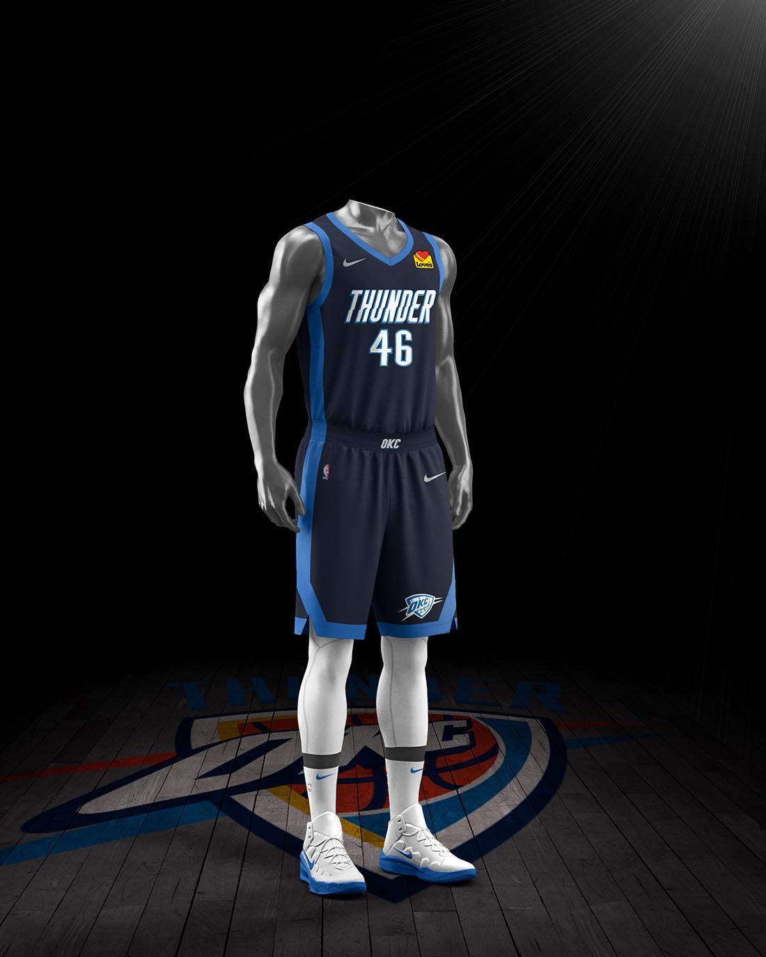 Nike x NBA Earned Edition 2020-21 - Oklahoma City Thunder