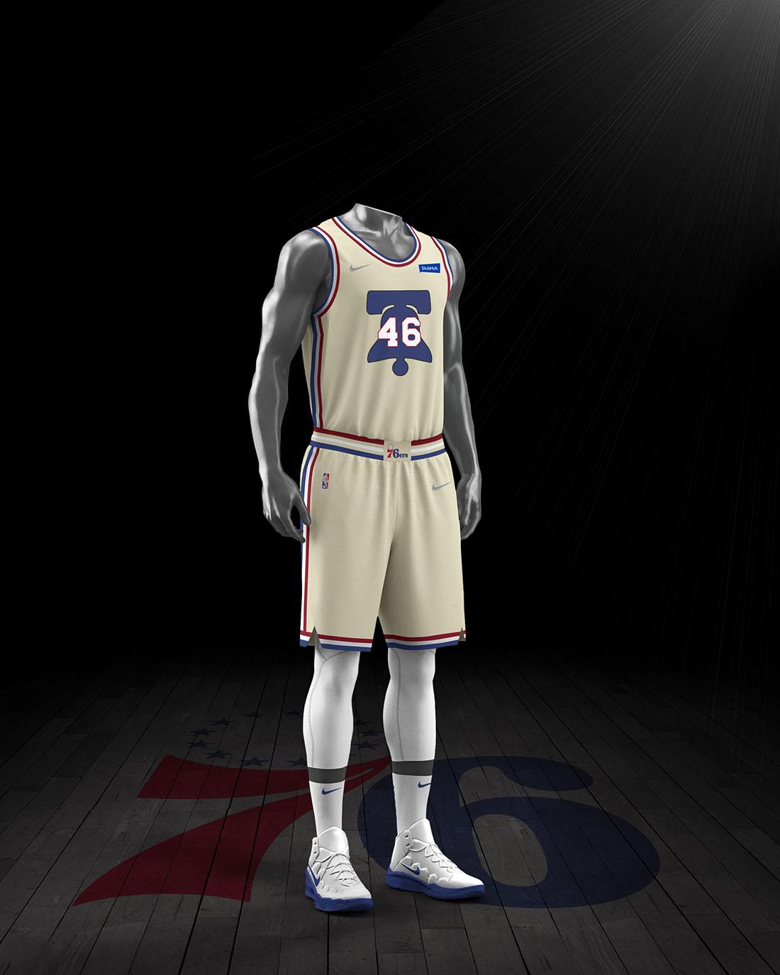 Nike x NBA Earned Edition 2020-21 - Philadelphia 76ers
