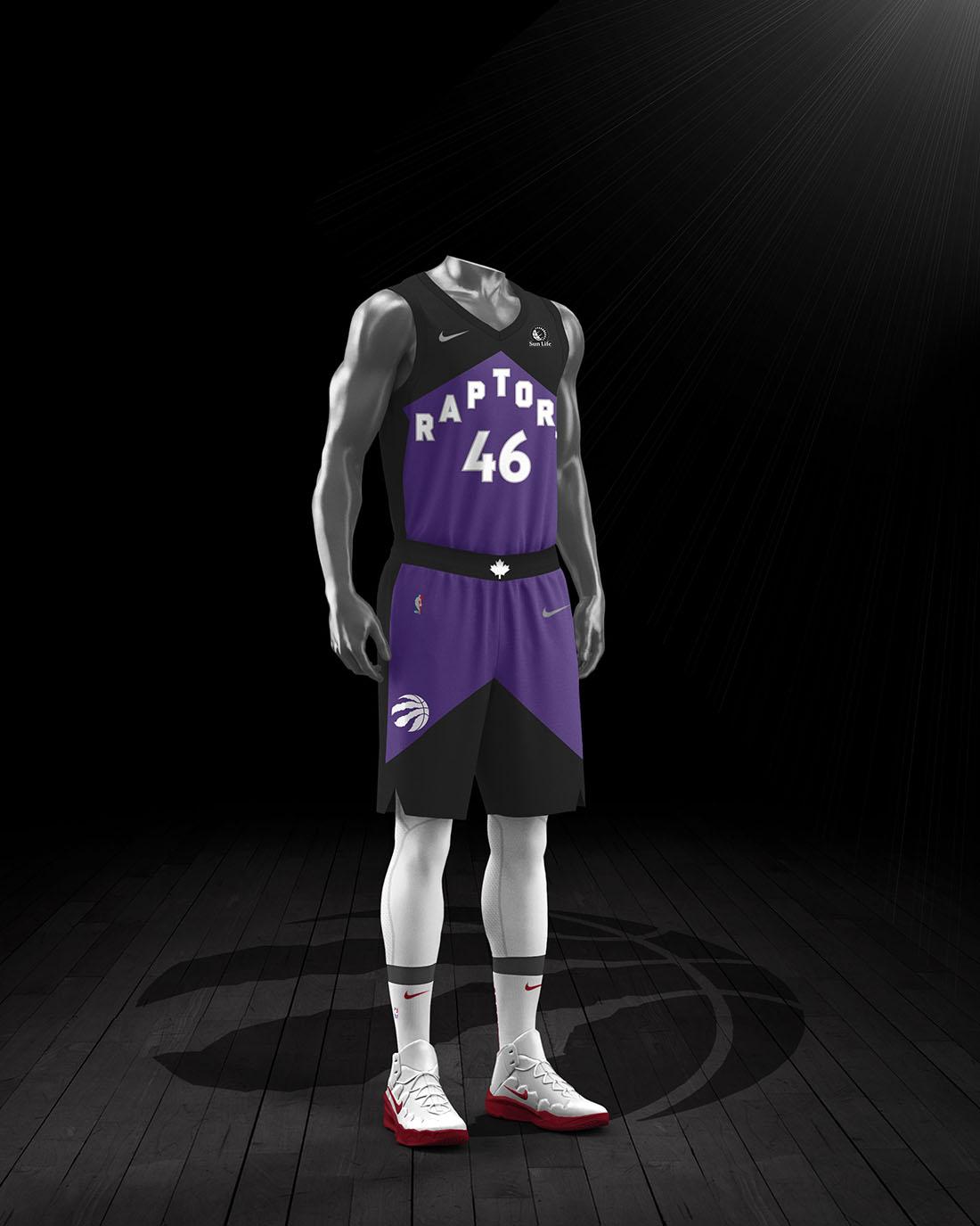 Nike x NBA Earned Edition 2020-21 - Toronto Raptors