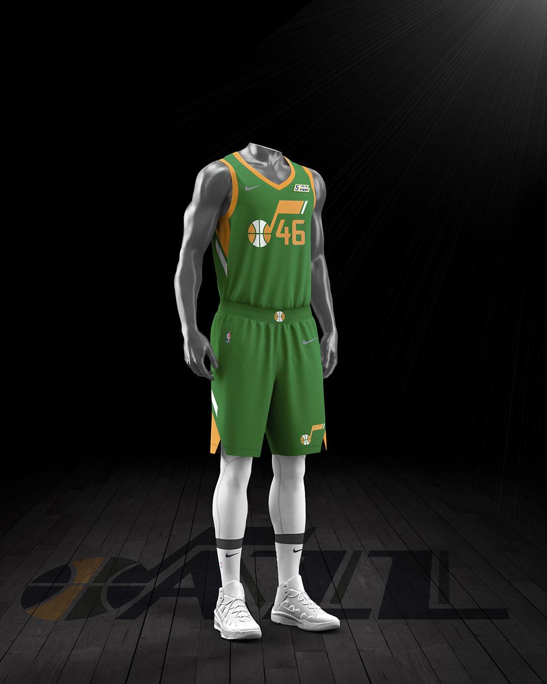 Nike x NBA Earned Edition 2020-21 - Utah Jazz