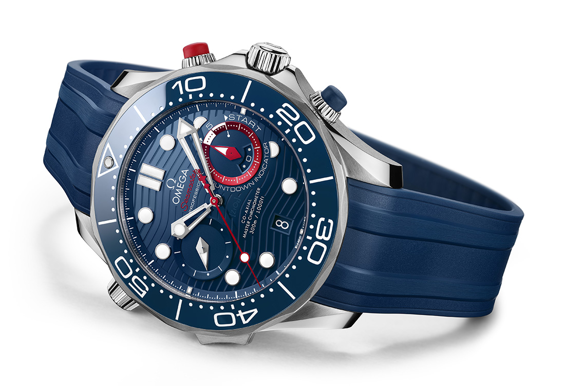 OMEGA Seamaster Diver 300 Chrono America's Cup