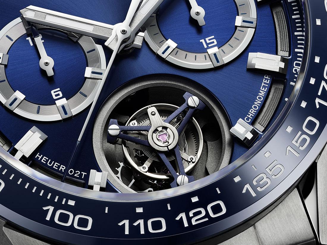TAG Heuer Carrera Heuer 02T Blue