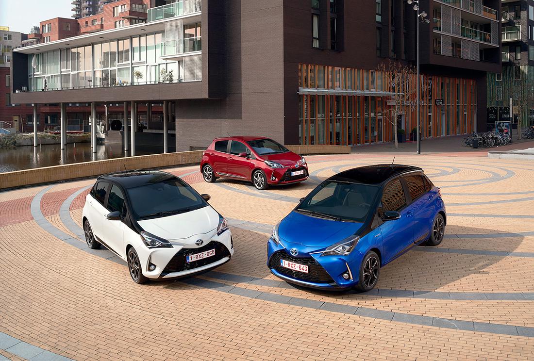 Toyota Yaris élue Voiture de l'Année 2021