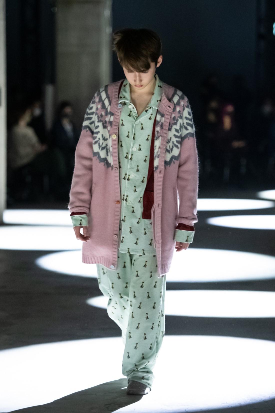 UNDERCOVER Evangelion - Automne-Hiver 2021-2022 - Tokyo Fashion Week