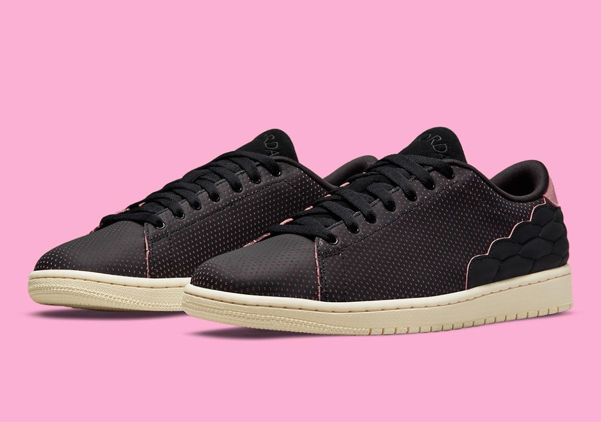 "Air Jordan 1 Centre Court ""Black Pink"""