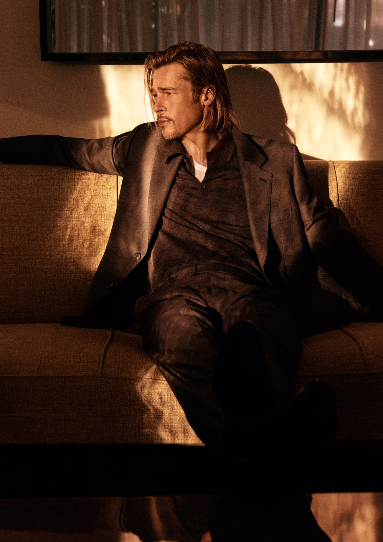 Brioni x Brad Pitt