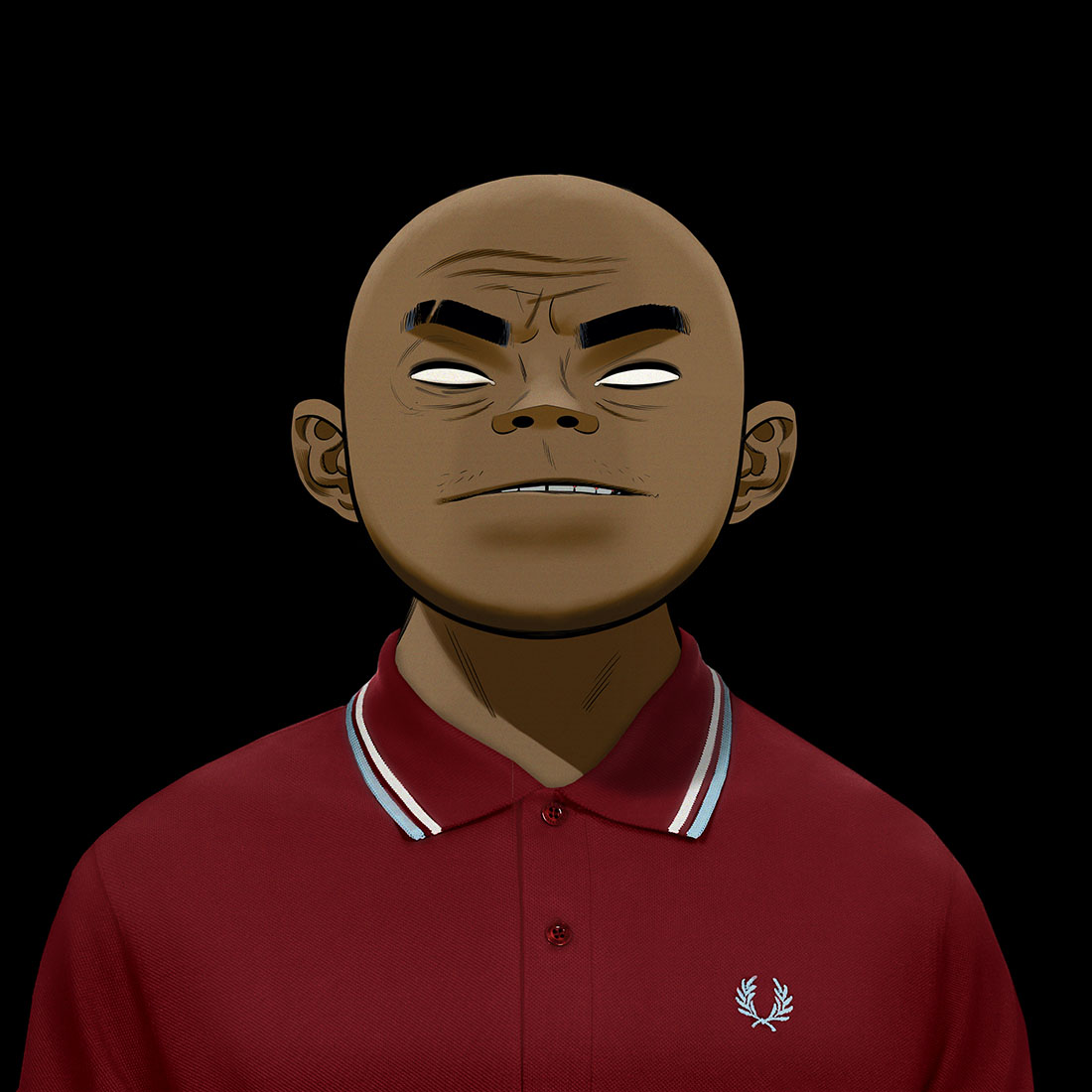 Fred Perry x Gorillaz - Russel Hobbs