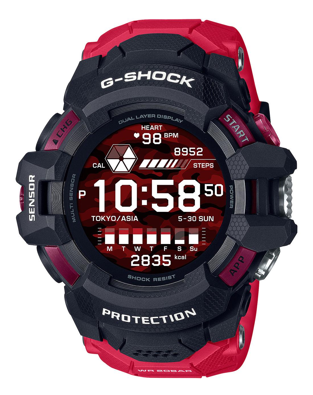 G-SHOCK G-SQUAD PRO GSW-H1000