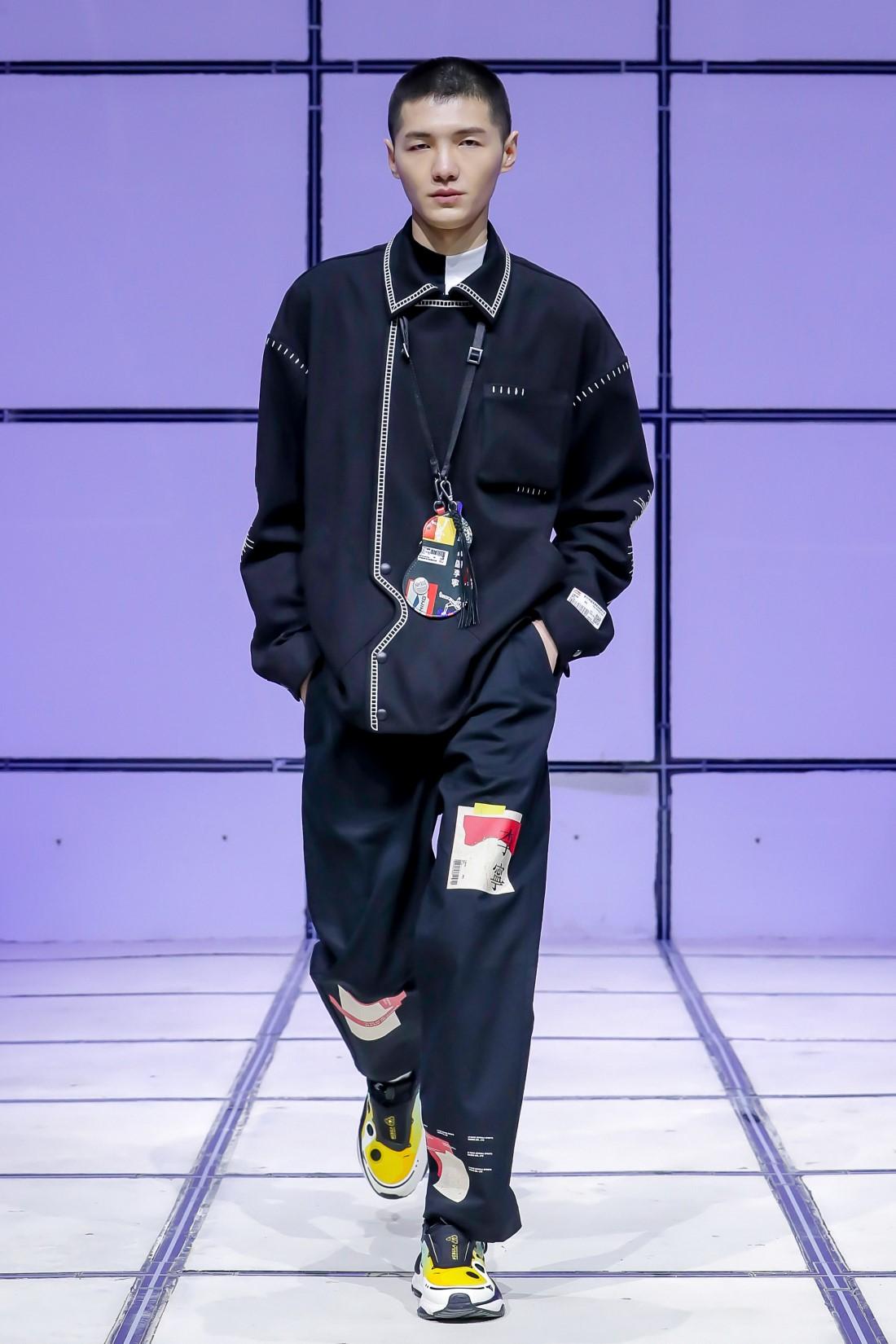 Li-Ning Automne-Hiver 2021-2022 - Shanghai Fashion Week